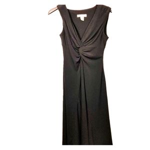 White House black market, black dress, 0